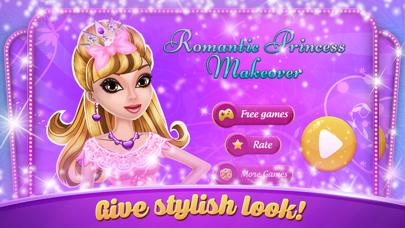 Romantic Princess Makeover - Beauty salon screenshot one