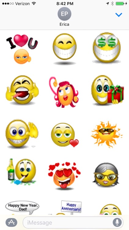 Animated Smileys for iMessages screenshot-2