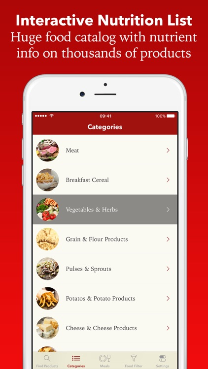 NutriCheck: Nutrition Facts & Vitamins for Foods screenshot-0