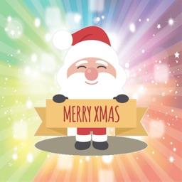 Smiling Santa Claus for Christmas - Fx Sticker