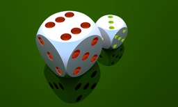 Dice 3D - physics engine powered dice for the next game night