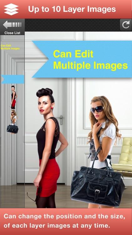 Superimpose Studio-Mix Photos screenshot-3