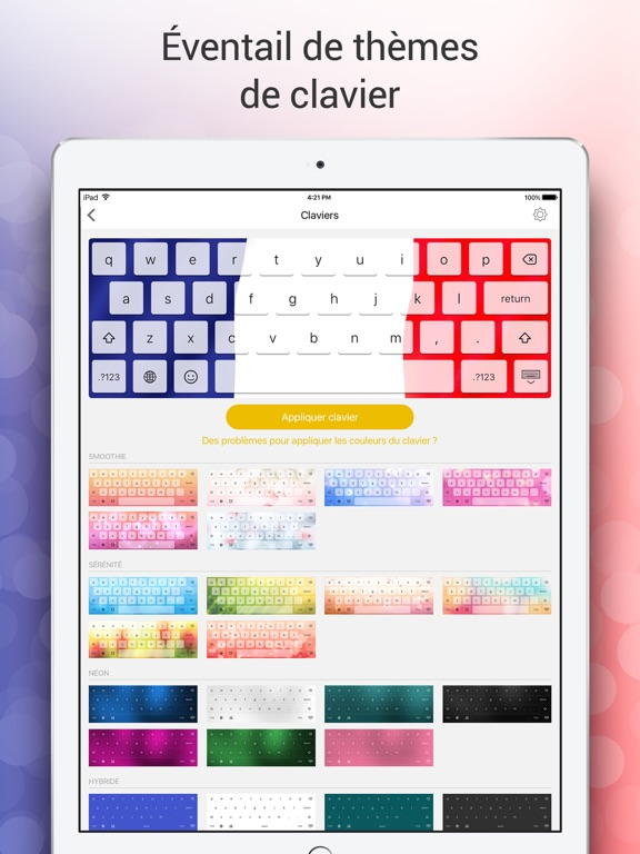 Screenshot #5 pour Clavier Emoji pour Moi - Nouveaux emojis gratuits