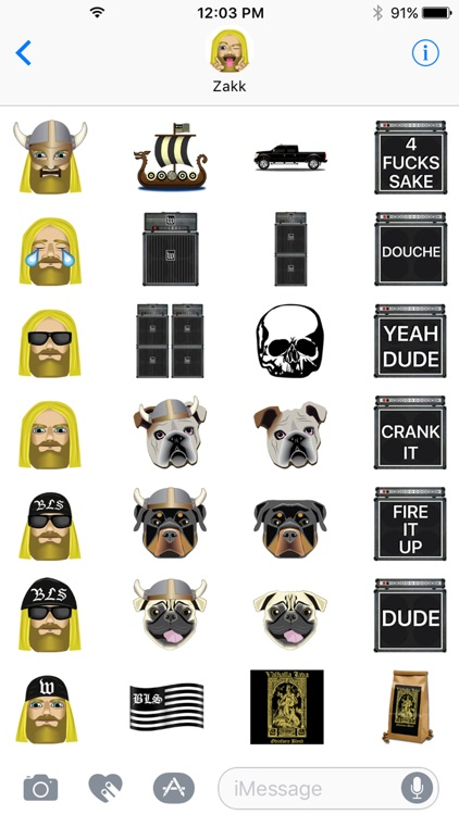 Zakk Wylde by Emoji Fame screenshot-3