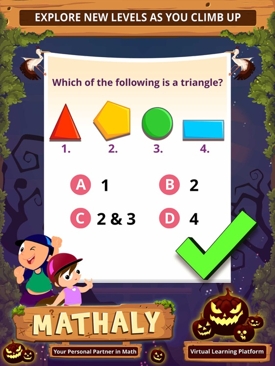 Math Games for kids - Mathaly