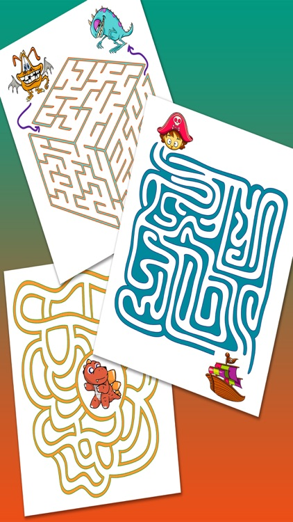 Mazes for kids – Puzzle game to find the exit Pro