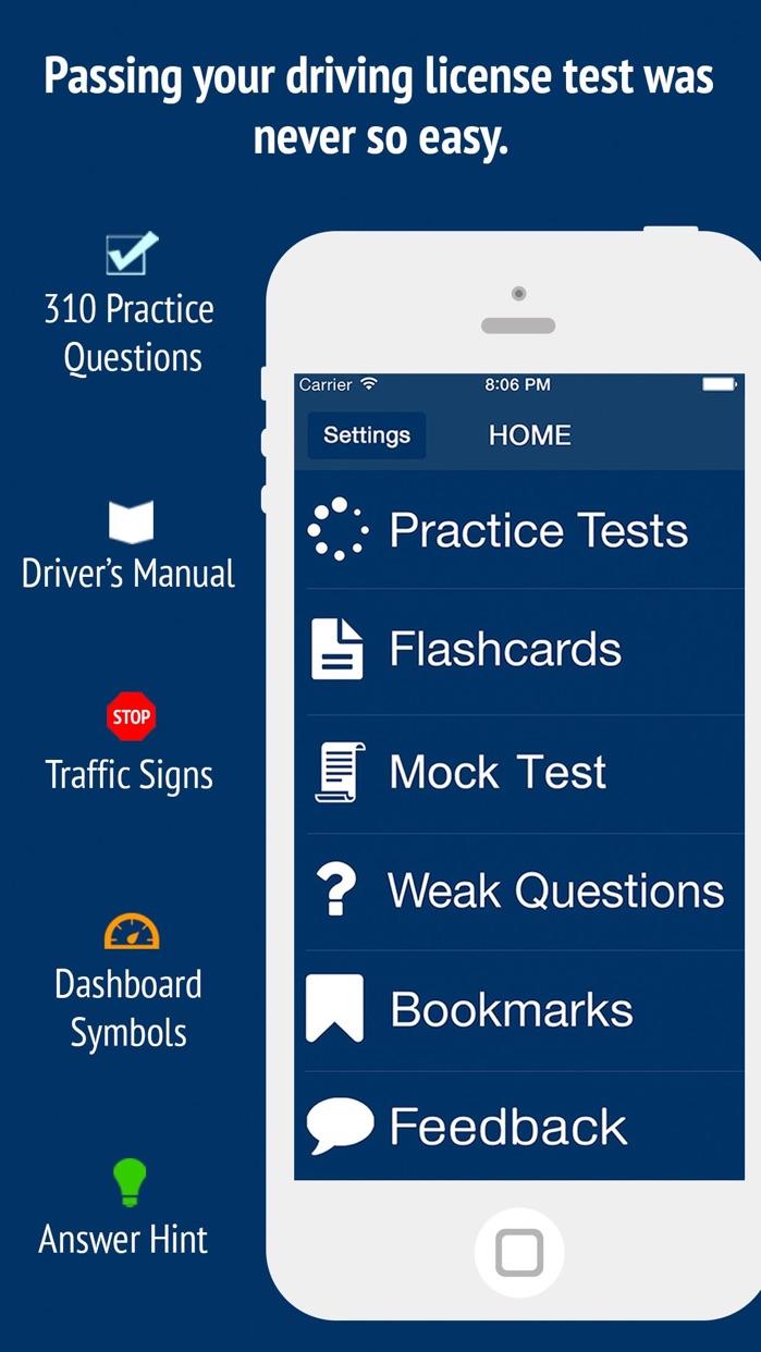 DMV Ultimate Test Prep 2018 Screenshot