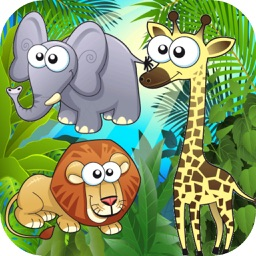 Animals Kid Matching Game - Memory Cards