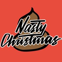 Nasty Christmas - Annoying Christmas Stickers