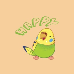 Happy chicken animating