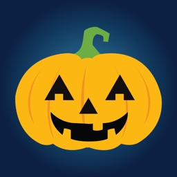 Pumpkin Halloween Emoji Sticker #1