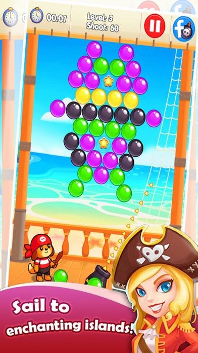 Ball Bubble Ship - Treasure Ocean screenshot three