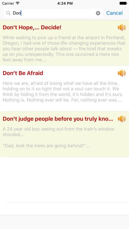 You Can Do It! - Best motivational stories screenshot-4