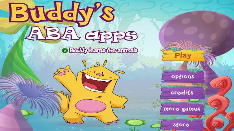 Learn the animals - Buddy's ABA Apps screenshot-0