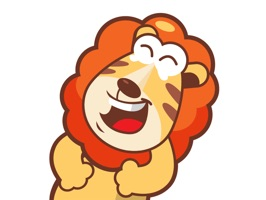 Meet Liam the Lion, a friendly character exclusive to iMessage
