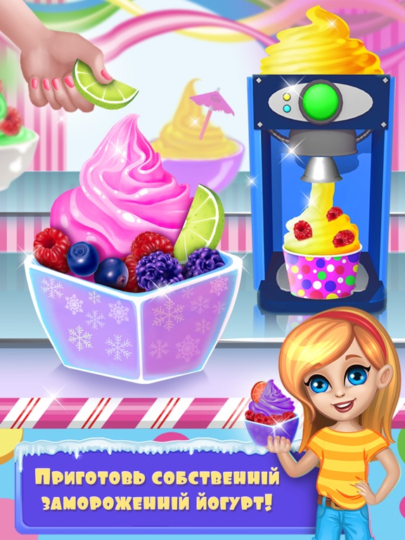 Готовим холодные десерты для iPad