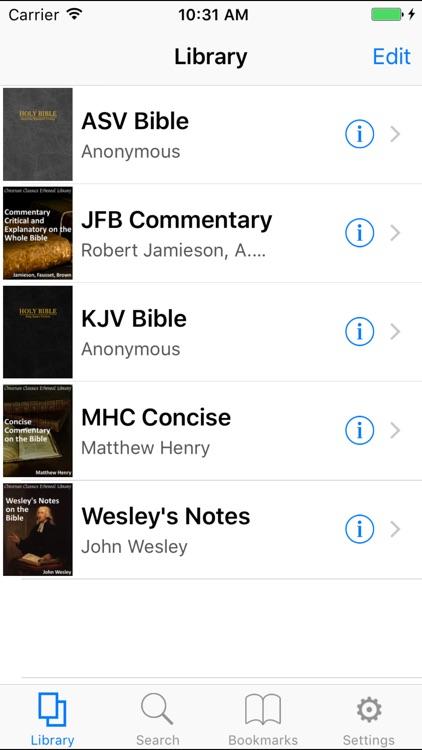 CCEL KJV Commentaries