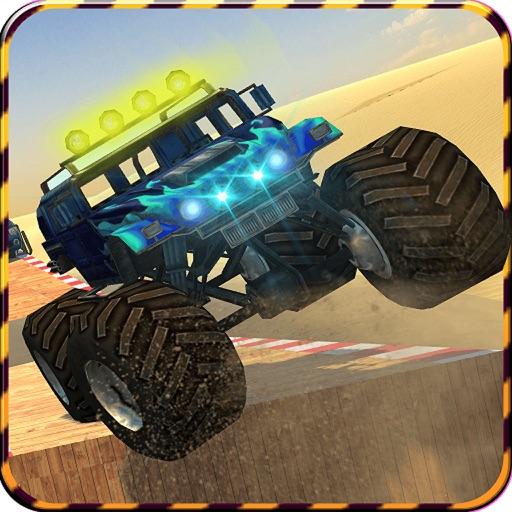 4x4 Offroad Stunts 2016 - Monster Truck Drifting iOS App