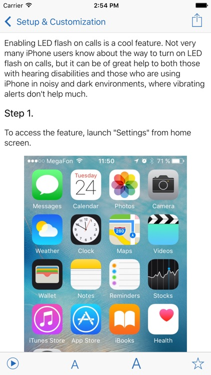 Manual for iPhone with secrets, tips & tricks
