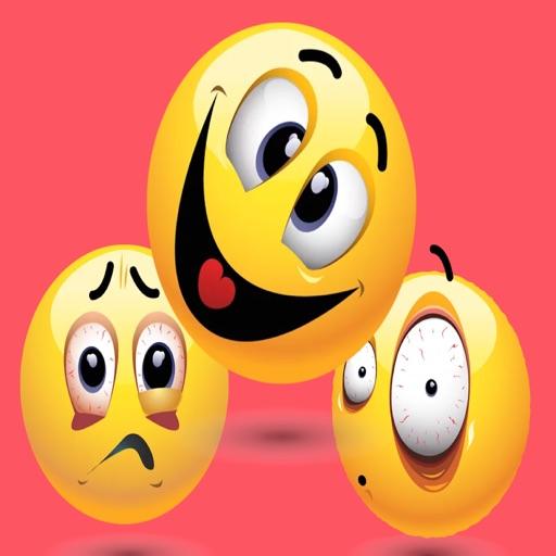 Crazy Smiley Stickers