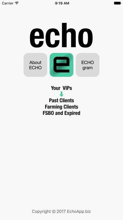 ECHO - Prospect Like a Real Estate Rock Star