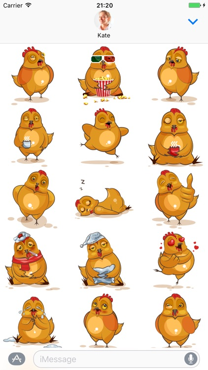 Hen - Stickers for iMessage