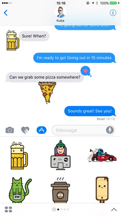 inFullStickers - stickers for iMessage