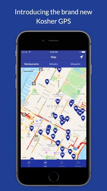 Kosher GPS