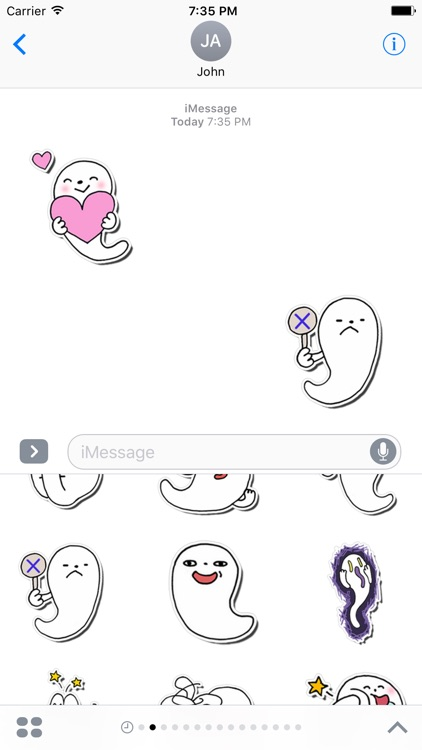 Ghoshi Funny Stickers for iMessage