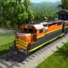 ジャングルの鉄道の運転: 旅客輸送ゲーム