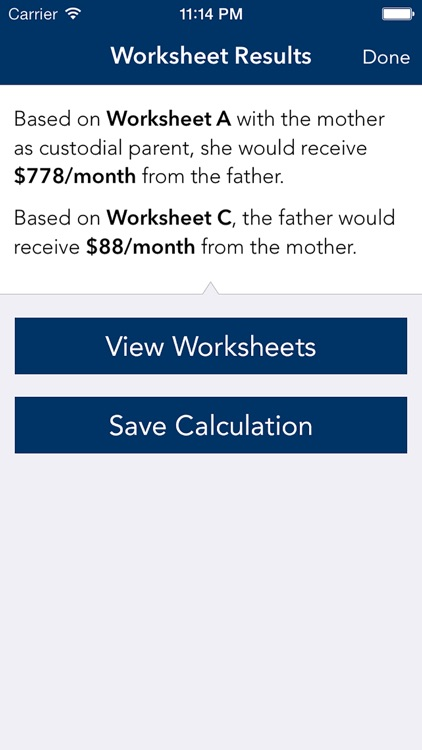 South Carolina Child Support Calculator screenshot-3