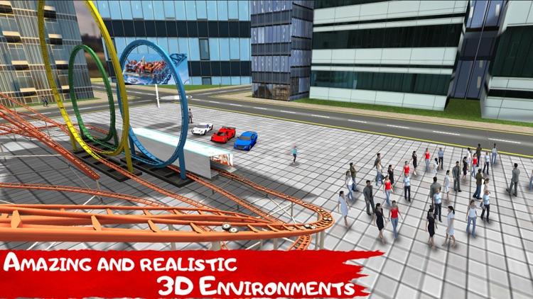 VR Roller Coaster - Tour for Google Cardboard screenshot-3