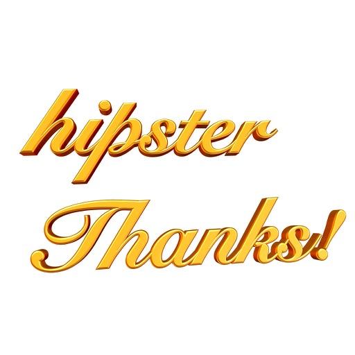 Hipster Thanks