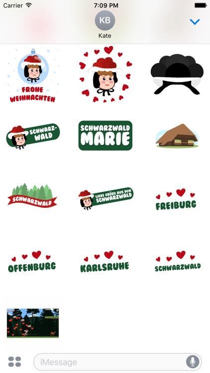 Schwarzwaldmarie Sticker