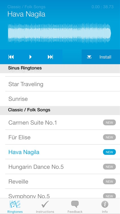 Ringtones for iPhone (Full Version) screenshot-4