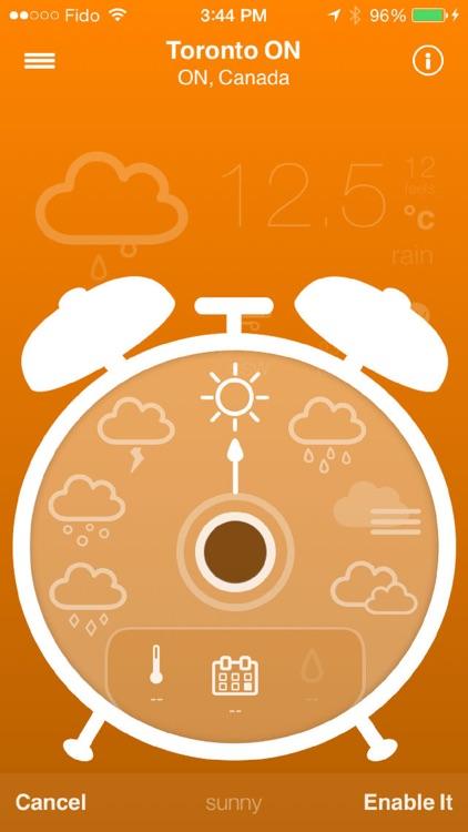 Weather Alarm | All seasons & forecast alerts