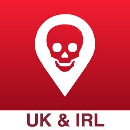 Poison Maps - UK & Ireland