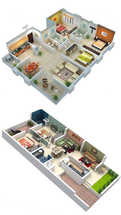 ホームデザイン - Interior 3Dのおすすめ画像1