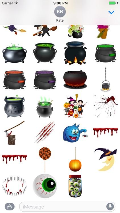 Halloween Sticker Pack - 200+ Stickers screenshot-3