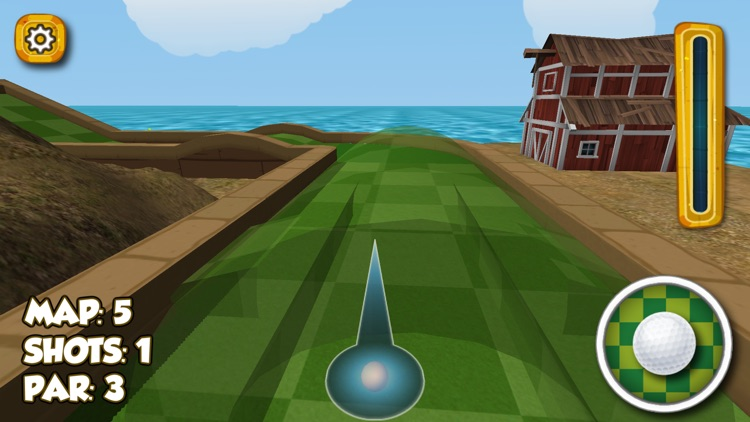 Impossible Crazy Mini Golf : Open Fun Minigolf screenshot-3