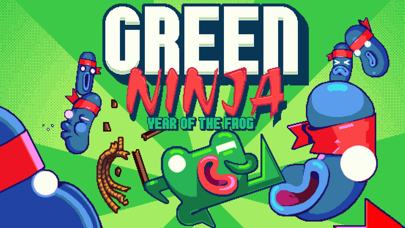 Screenshot from Green Ninja: Year of the Frog
