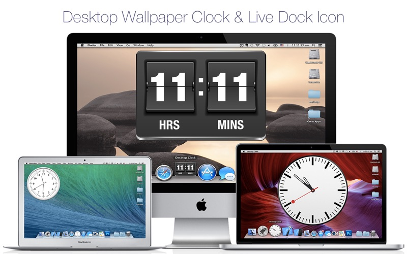 Desktop Clock Live + Screenshots