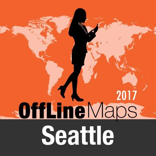 Seattle mapa offline y guía de viaje