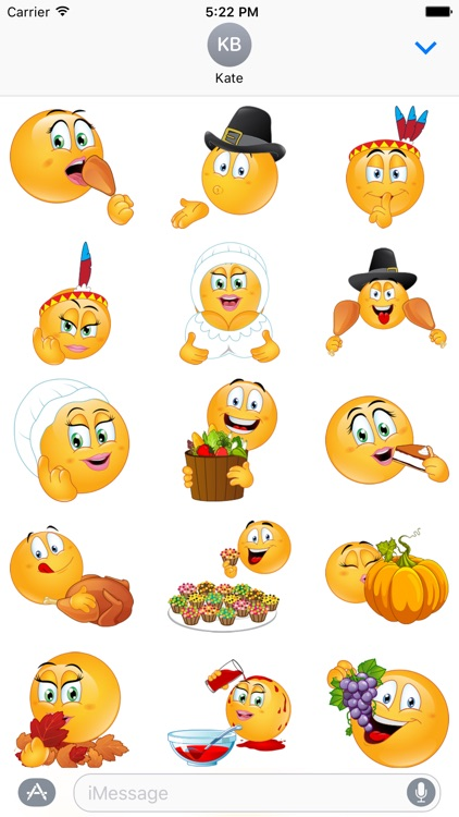 Flirty Thanksgiving Emojis by Emoji World