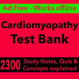 Cardiomyopathy Exam Review App-Flashcards & Quiz
