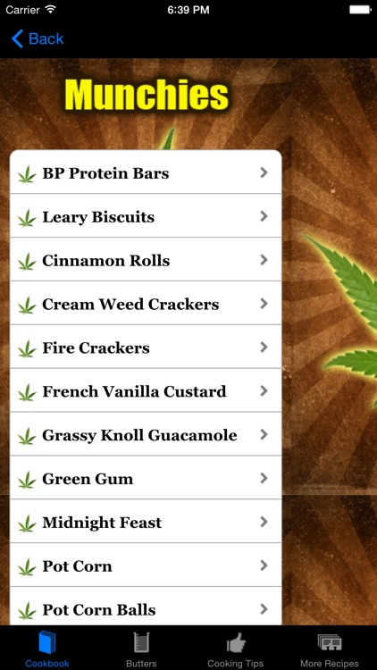 Baked! - 50 New Medical Marijuana Cookbook Recipes screenshot-3