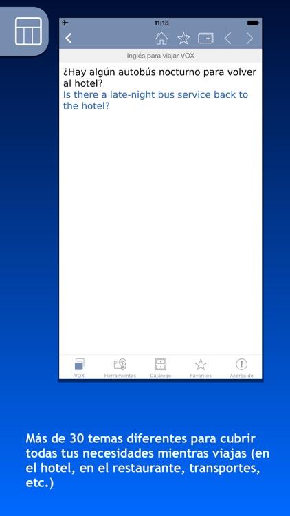 Guías de conversación VOX para viajar screenshot-3
