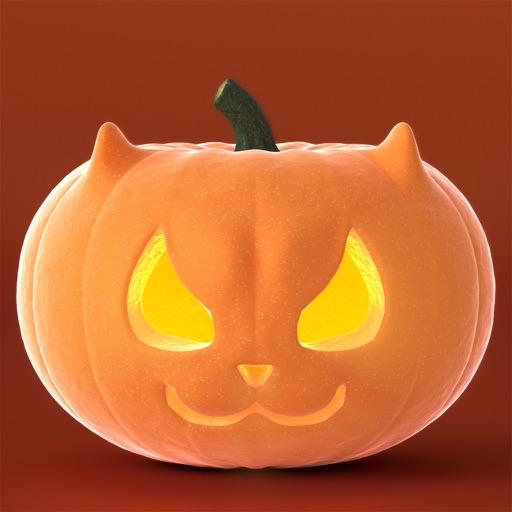 Cat O'Lanterns - Halloween Cat Pumpkins stickers