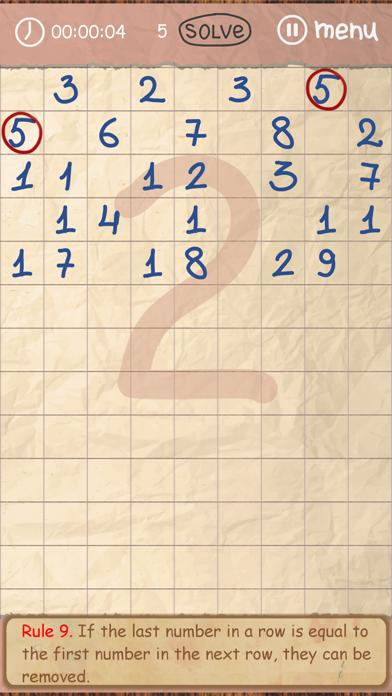 Doodle Numbers Puzzleのおすすめ画像3