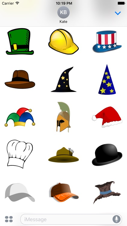 Hat Sticker Pack - Fun